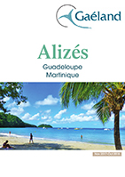 Brochure Aliz�s, catalogue Guadeloup, Martinique